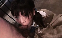 Minami Asaka pussy fingered hardcore by two cell room mates
