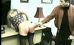 Cruel Spanking Chick Fetish Play
