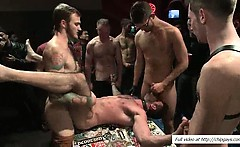 Bound Billy Santoro gets creamed