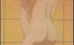 bigboobs hentai lesbians sex in the bath room