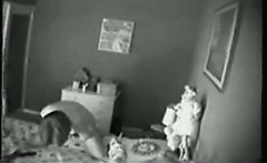 Spy cam caught morning masturbation my mom