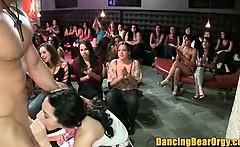 Amateur Blowbang Filmed at the Dancing Bear Orgy