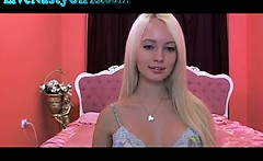 Blonde Barbie Doll With Big Tits On Cam