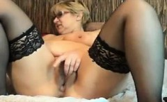 Grandma Plays With Her Ass