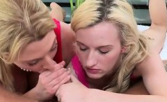 Jennifer And Skylar Having A Double Feast Of Cock And Puss
