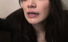 She Is A Cum Slave - Japanese