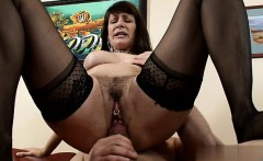 Teen pounded hard