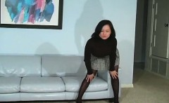 sexy quim in darksome pantyhose