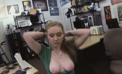 Check out this sexy chick to the backroom getting bang