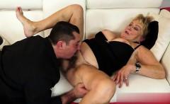 Wet pussy cum between tits