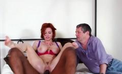 Slut wife rides black rod