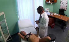 Perfect ass patient banged by doctor in fake hospital