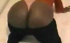 Ebony Mother Showing Off Her Massive Booty