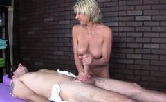 Rough Massage by Milf