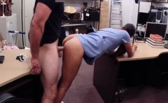 Horny amateur girl gets her pussy screwed at the pawnshop
