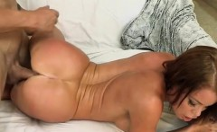 Hot Vixen Gets Nailed After Seducing Guy With Massive Cock