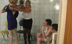 Horny Russians Fucking Together At A Spa