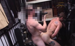 Gay reality threesome with a straight dude