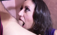 big natural tit milf fuck hairy pussy from friend of her son