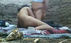 Fat Arab Whore With Soldiers Outside