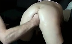 Horny MILF Gets Fisted And A Facial