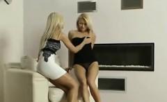 Beautiful Blonde Lesbians Please Each Other