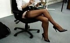 My Beautiful Secretary Is Such A Tease