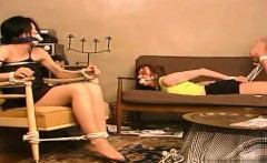 Young model anal punishment