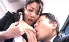 Japanese Woman Swallowing Cum In The Van