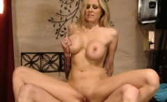 Chesty blonde teacher Julia Ann fucking