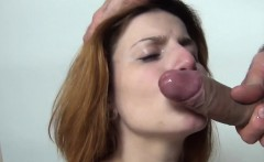 redhead recreational in facial casting