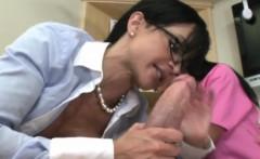 Femdom loving dentists riding guys cock