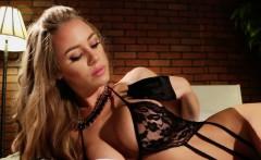 Nicole's lingerie tease