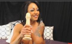 CyberSlut Tatt Chick Pierced Nipples Webcam Video Chat