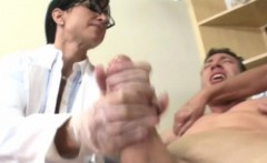 Mature CFNM nurses sucking patients cock