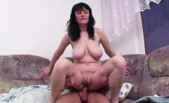 step mom fucks german step son when dad not home