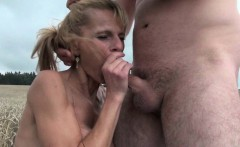 Mom loves it deep and dirty outdoors