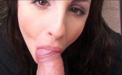 Hot amateur Eurobabe Kerry Raven screwed a chunk of money