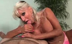 This blonde's got her eyes on one thing, Big Cocks
