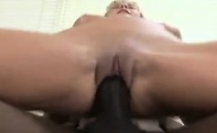 Blonde Chick And A Thick Black Cock