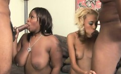 two big black cocks and ghetto pussy