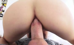 anal loving brunette in anal affair getting fucked