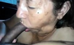 Latin Grandma Sucks Cock Point Of View