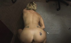 Cute lovely blonde chick having a big dick