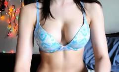 Nerdy Teen Has Nice Tight Body On Webcam