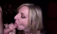 CFNM amateurs suck dick at party for lucky guy