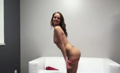 Glamour model fucked