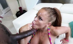 Nikki Delano gets a creamy cum facial