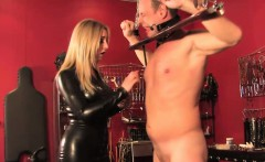 british bdsm dungeon fun with milf mistress