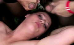 Czech Girl In An Awesome Gangbang With Lots Of Guys